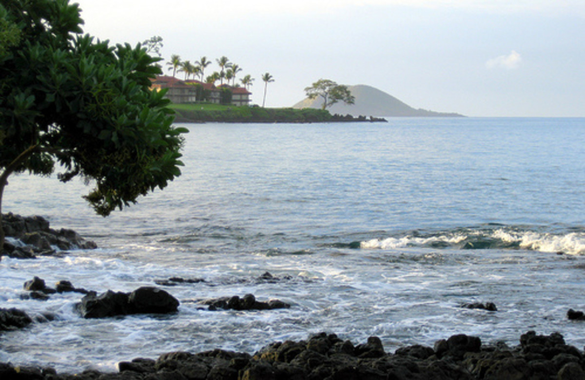 Wailea Bay (69s Beach) on the Big Island of Hawaii