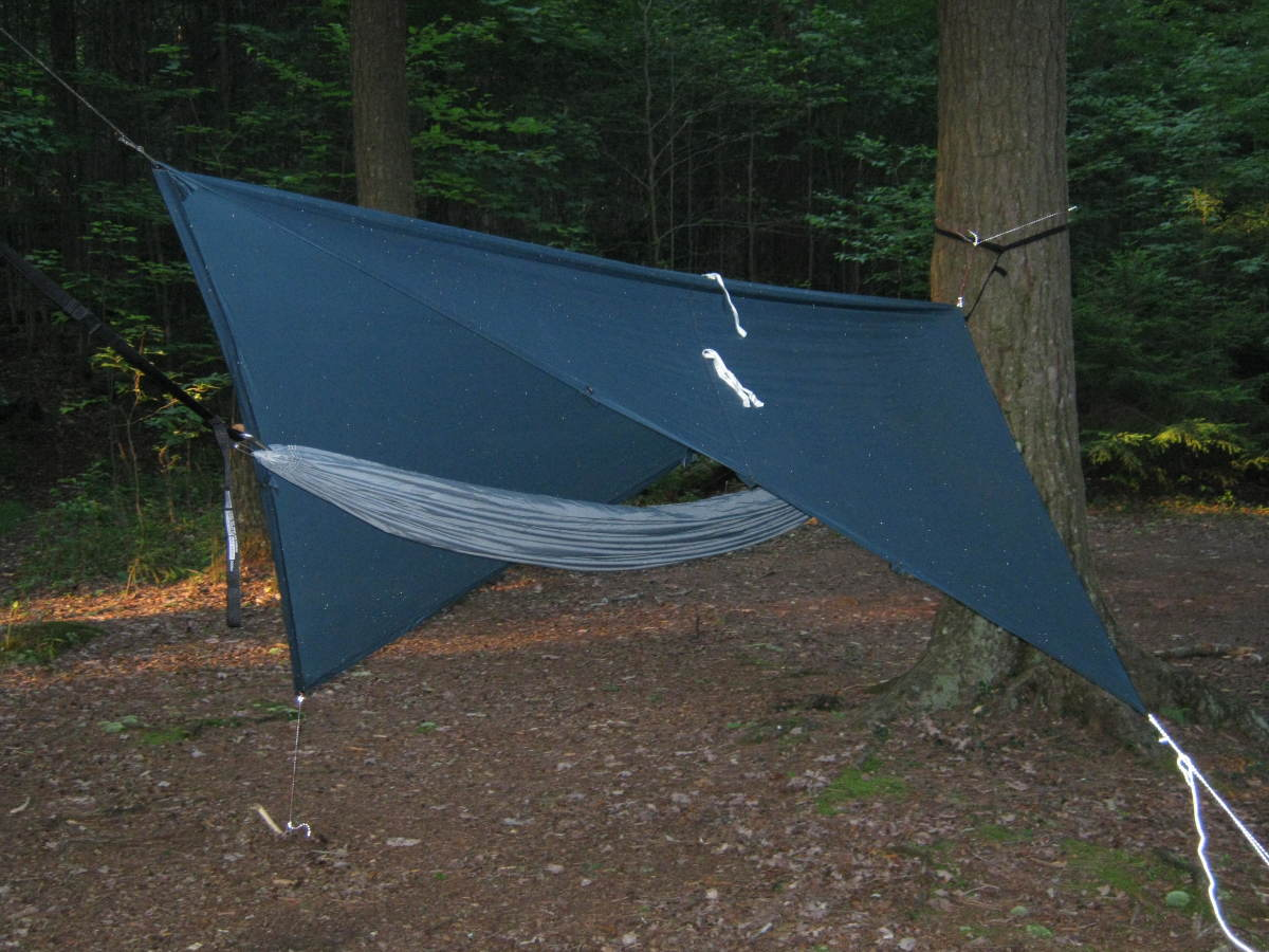 Though hammocks are usually a tad heavier than ground sleeping systems, they are quite comfy.