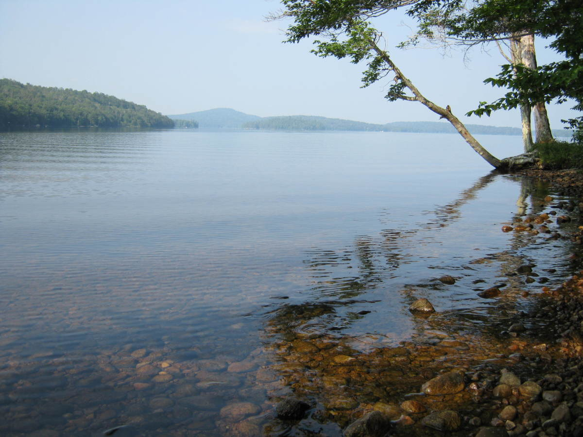 A good portion of the trail follows the shore of Cranberry Lake, with good water, plenty of views, and many camping spots.