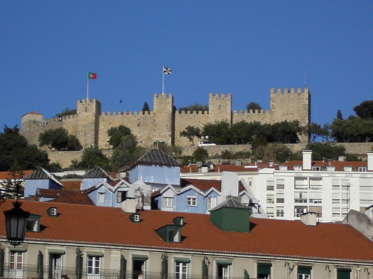 View of the Caste of Sao Jorge