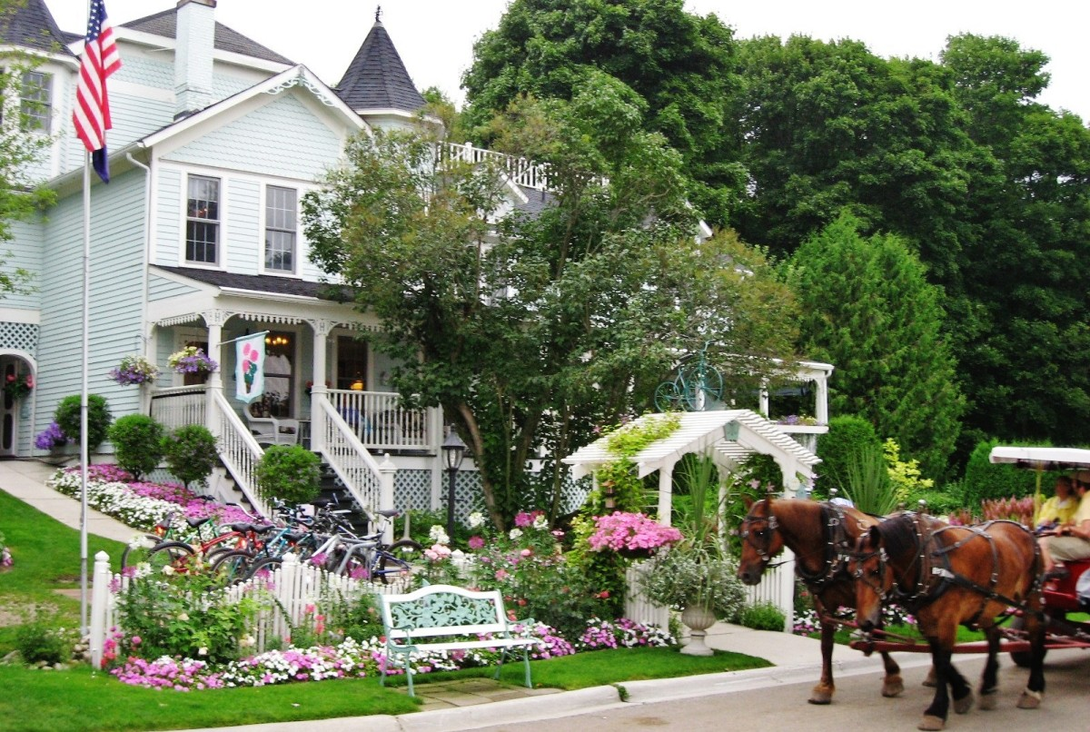 Common mode of transportation on Mackinac Island