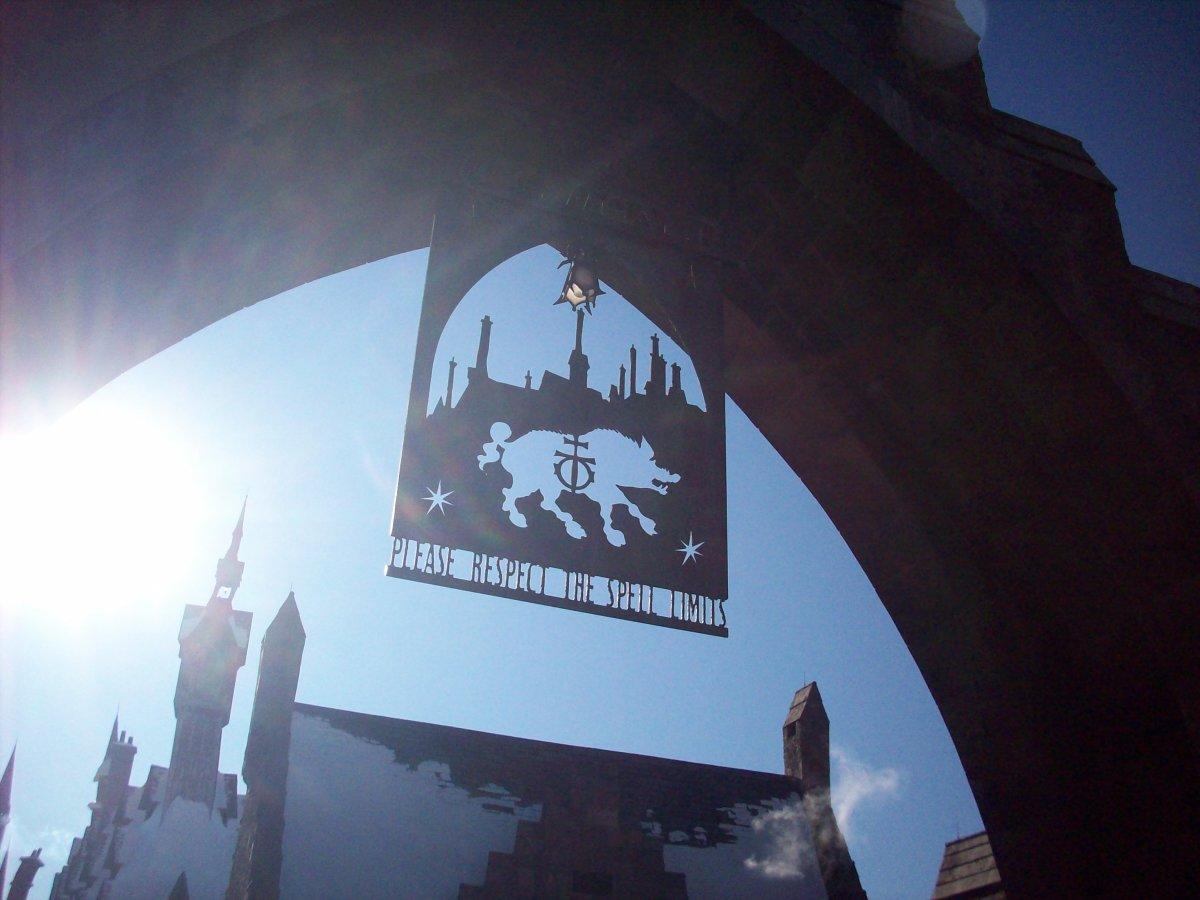Entrance to Hogsmead