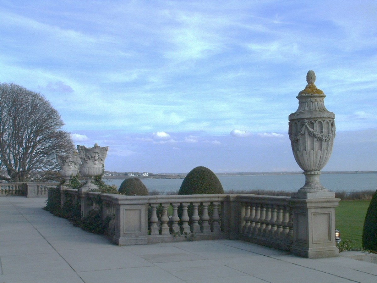 View from one of The Breakers' terraces.