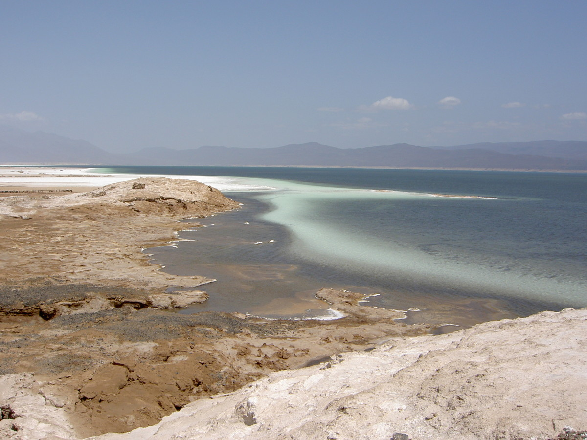 Lake Assal, Djibouti.