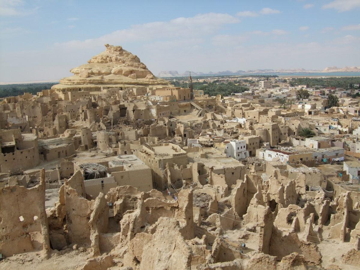 Siwa Oasis, Qattara Depression, Egypt.