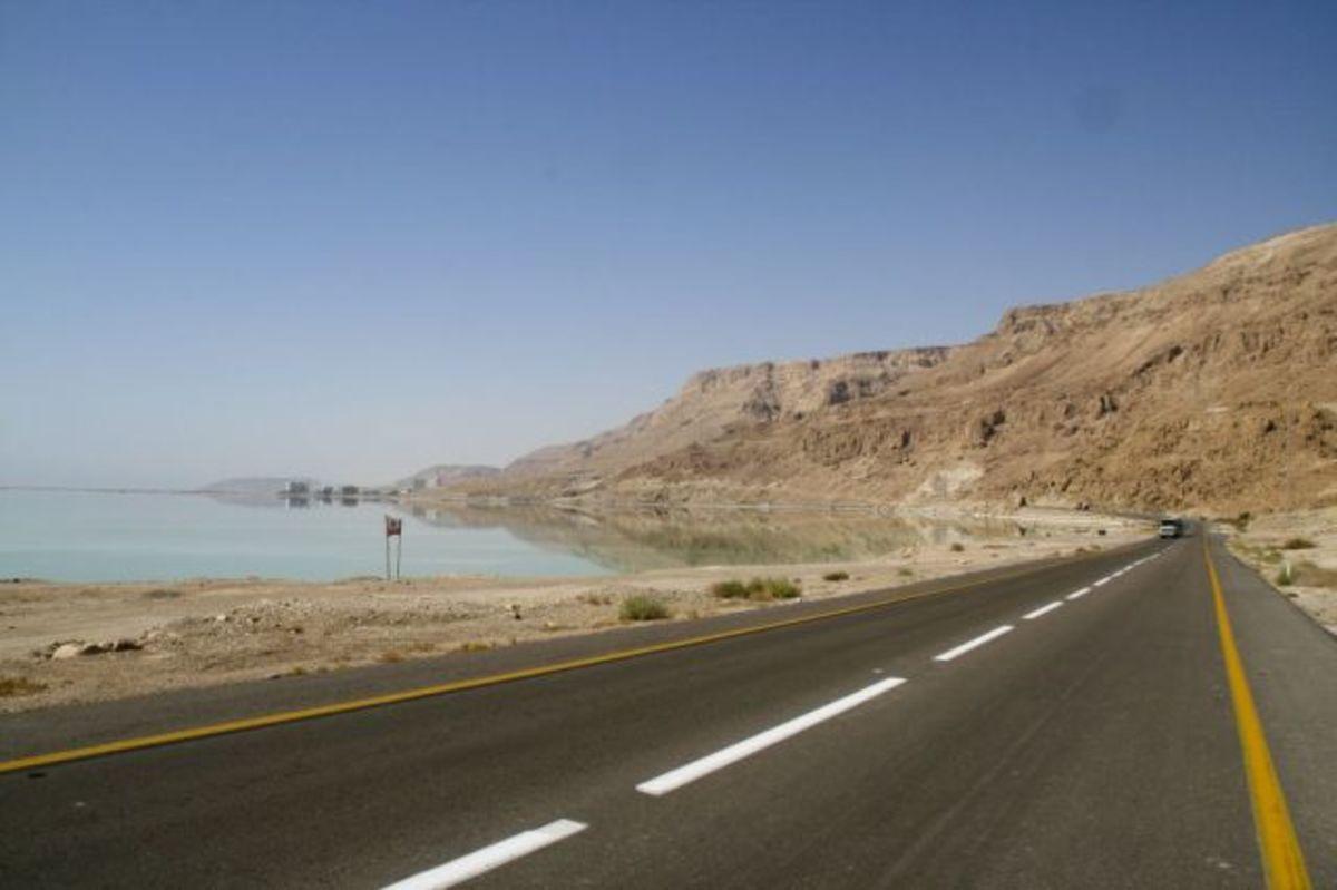 Dead Sea From the Israeli Side