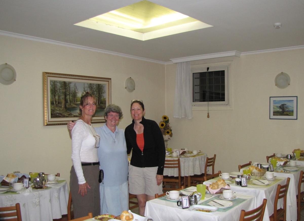 Sr. Christina (center)