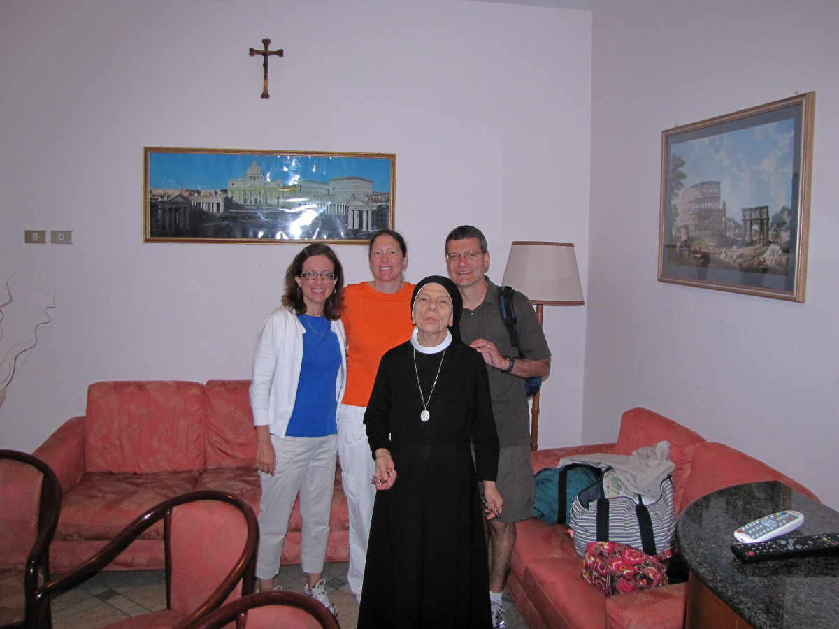 Sister Gianlaura with our group