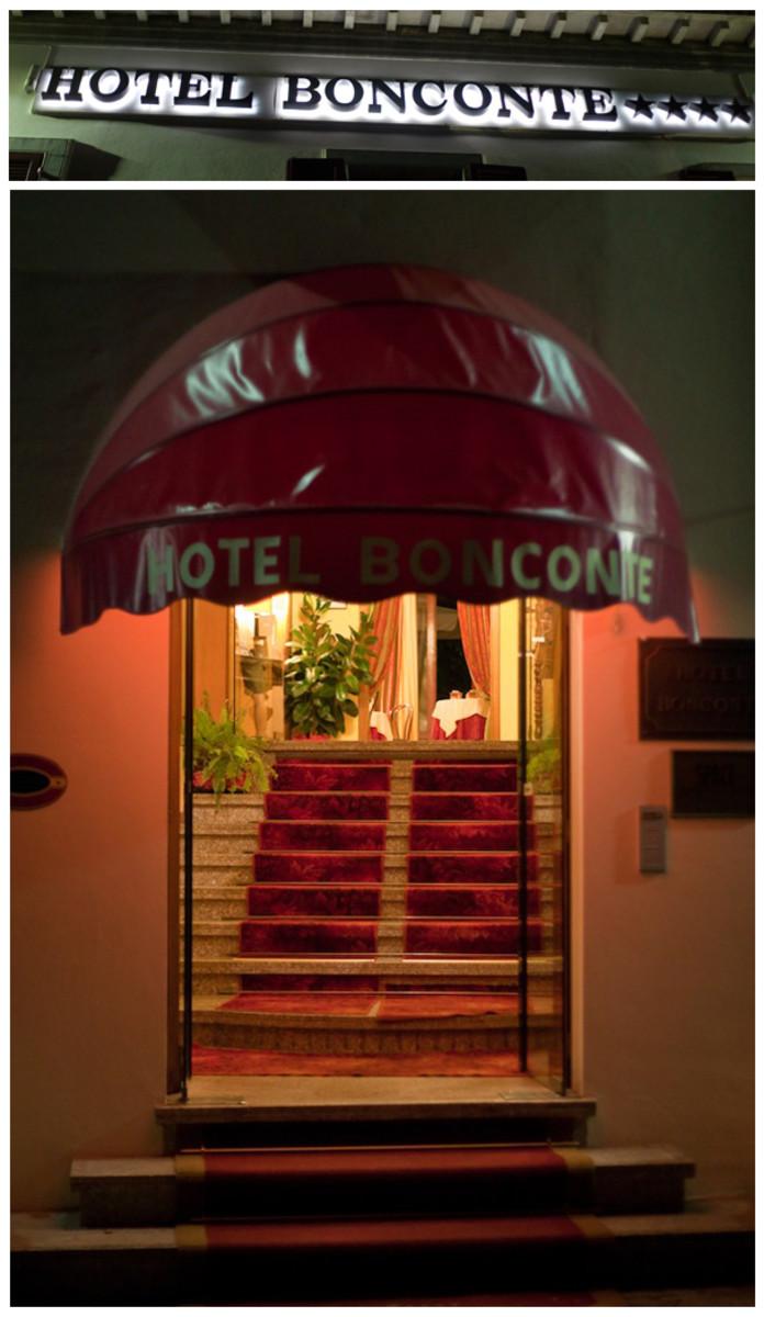 The Hotel Bonconte, Urbino, Italy.