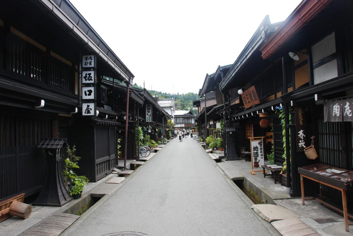 Sanmachi Suji, Takayama