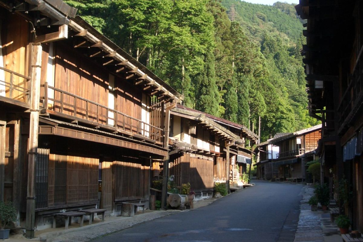 Tsumago in Kiso Valley, Japan