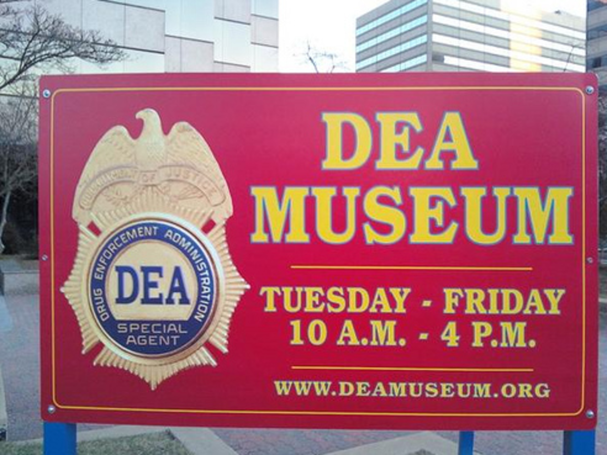 The DEA Museum - Conveniently located at the Pentagon City Mall