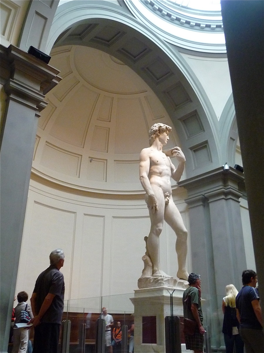 Michelagelo's Statue of David