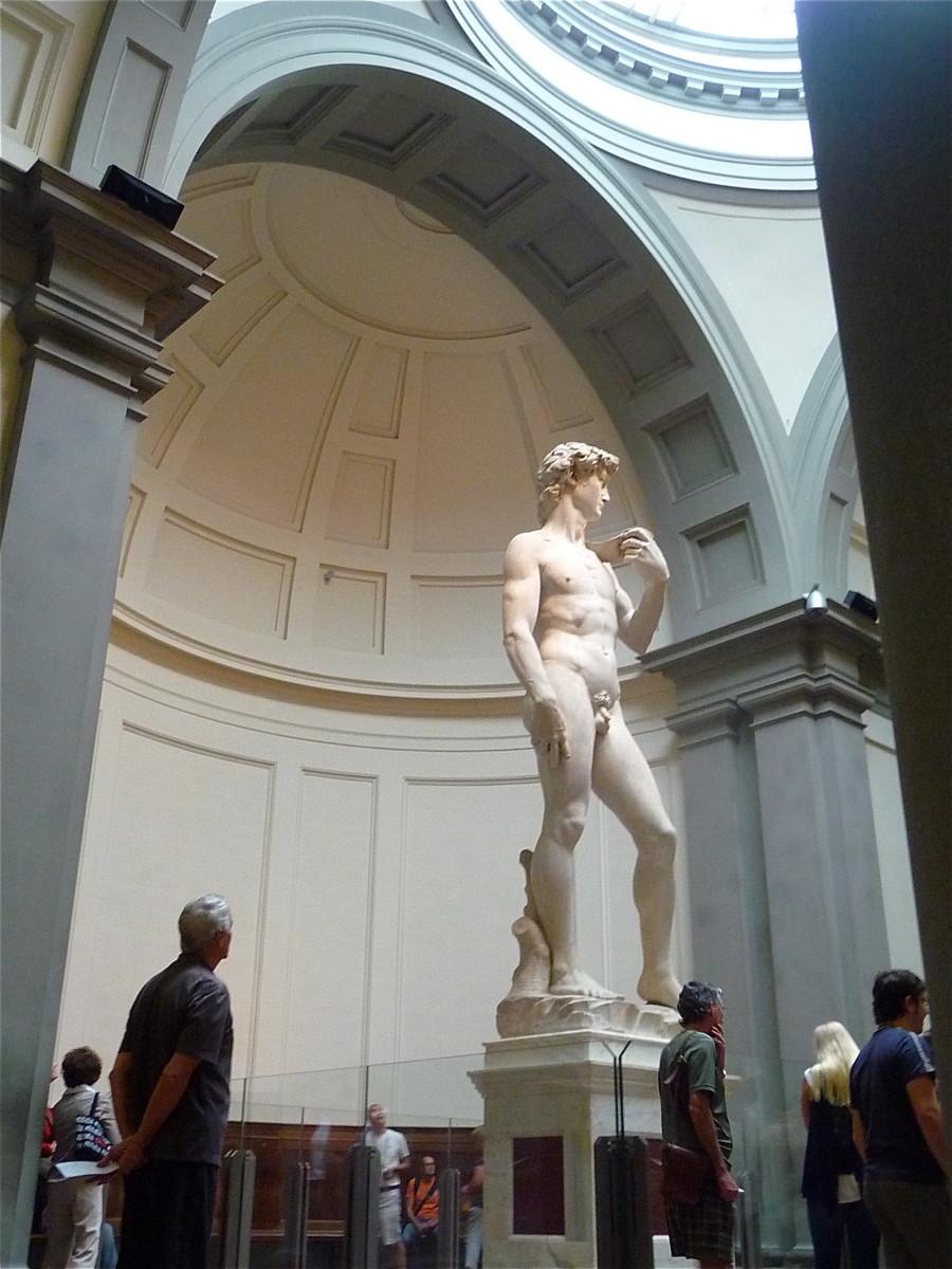 Michelagelo's Statue of David