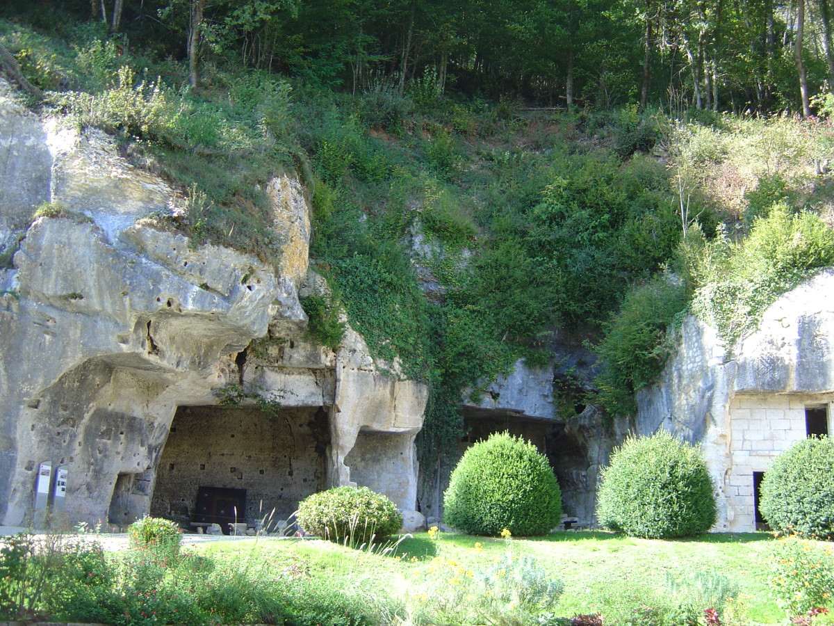 Caves Brantome France
