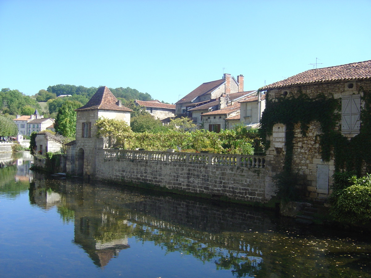 The old town, Brantome