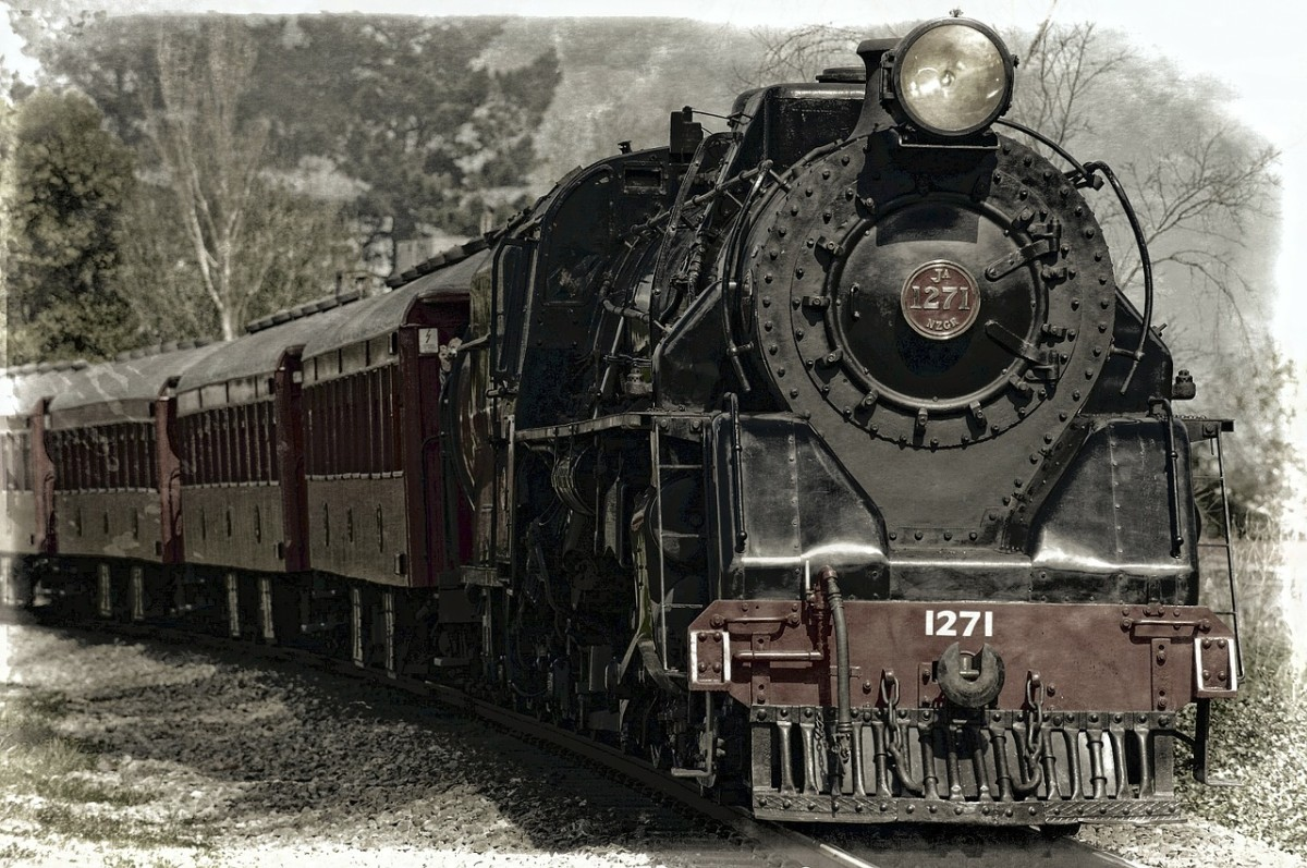 Travel back in time aboard a real steam powered train at Railtown 1897 State Historic Park