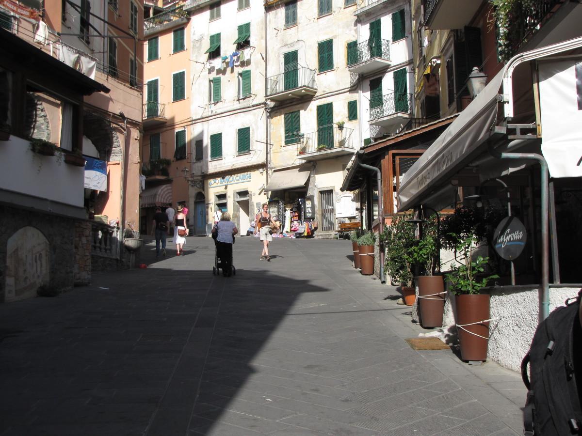 Riomaggiore - Via Columbo