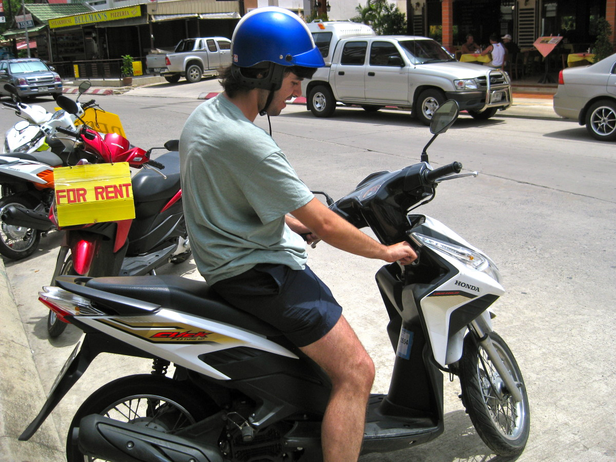 It's fun and convenient to get around Southeast Asian cities on a scooter