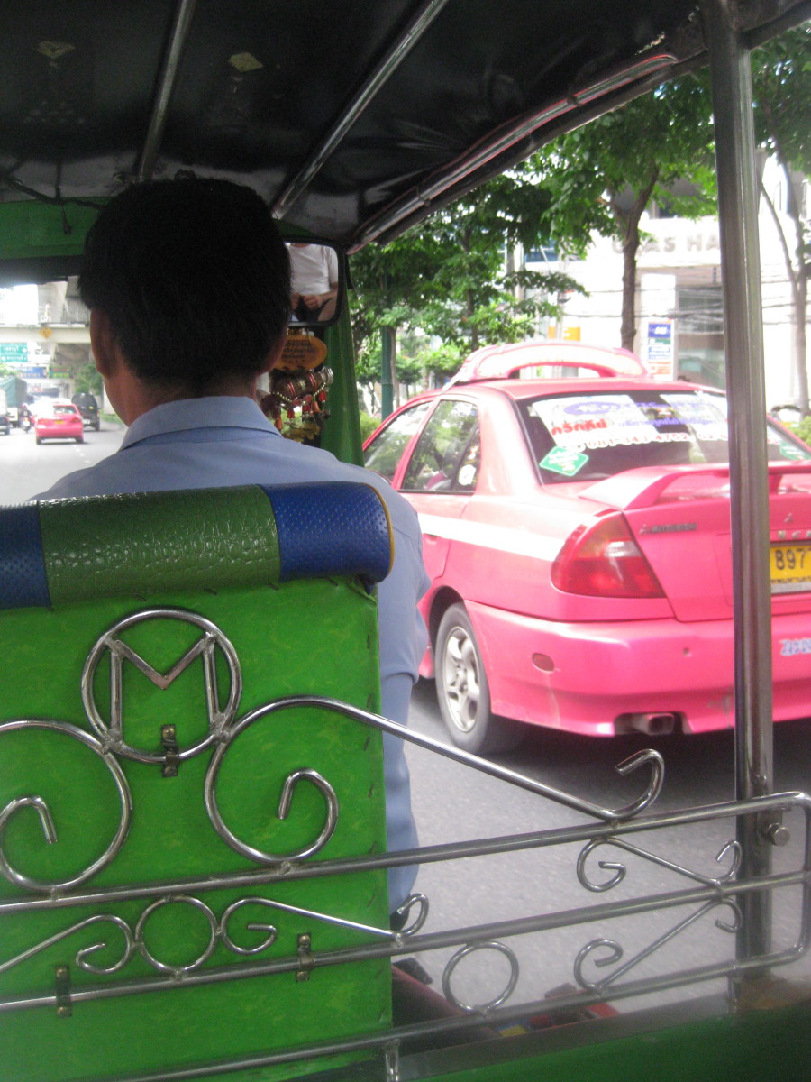 Tuk tuks are great if you need to travel a short distance quickly