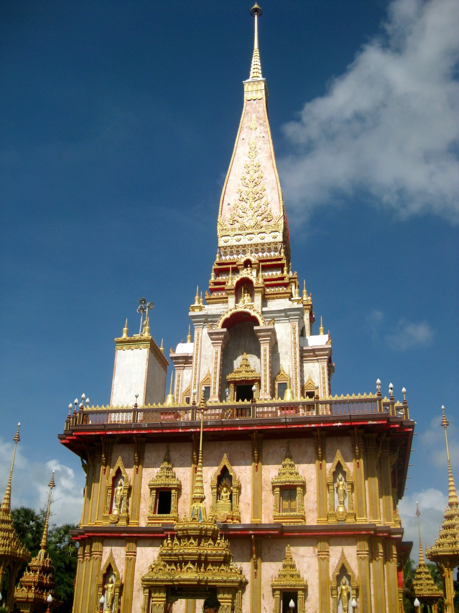 One of the many stunning temples