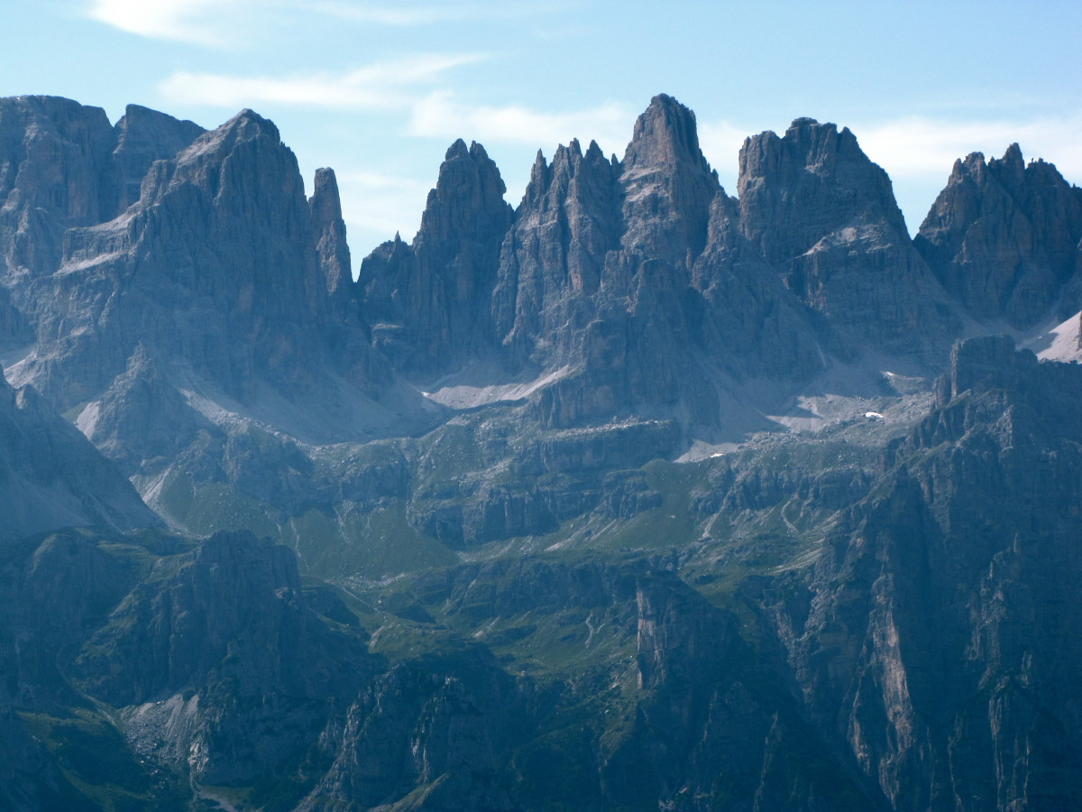 The Brenta Dolomite.