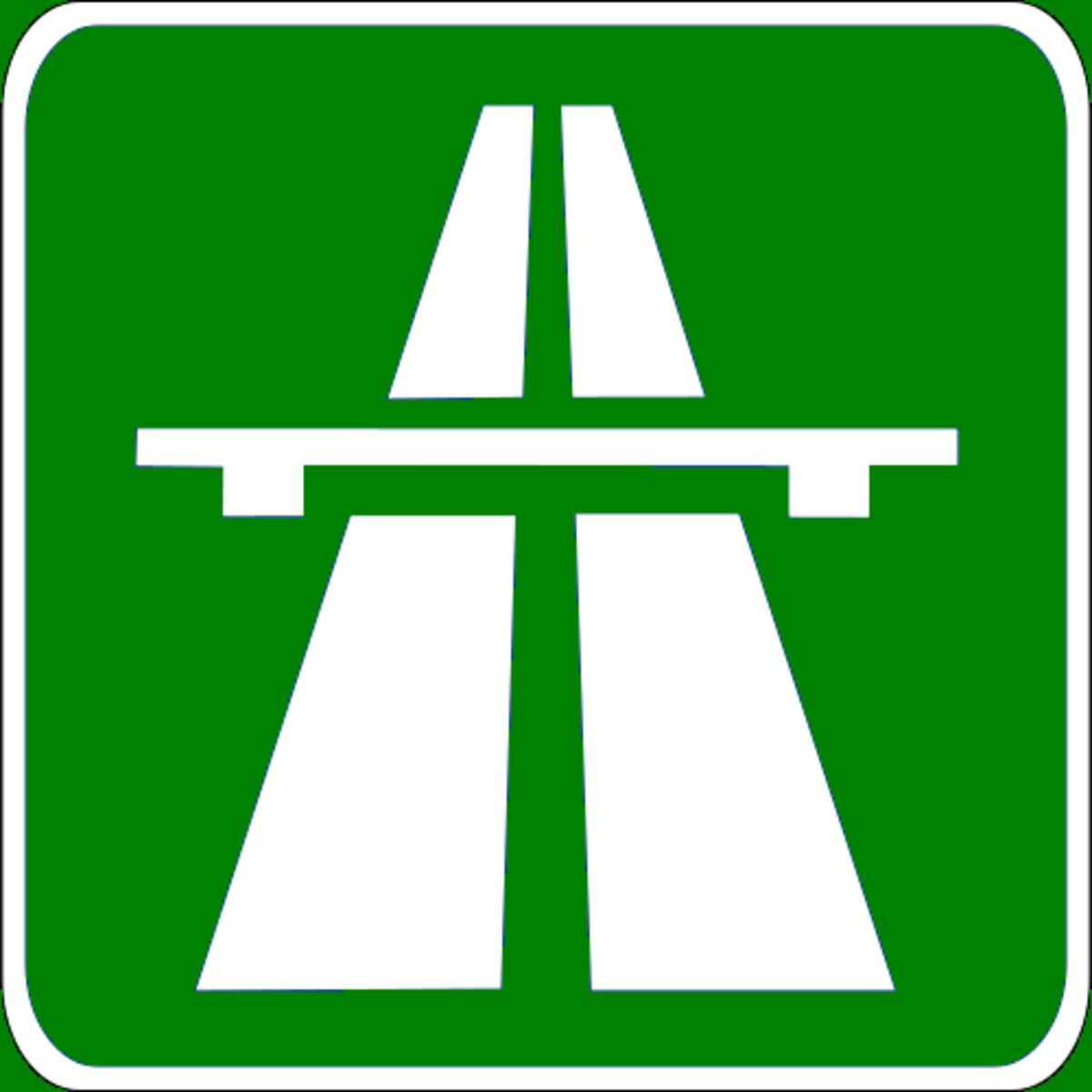 Autostrada Sign