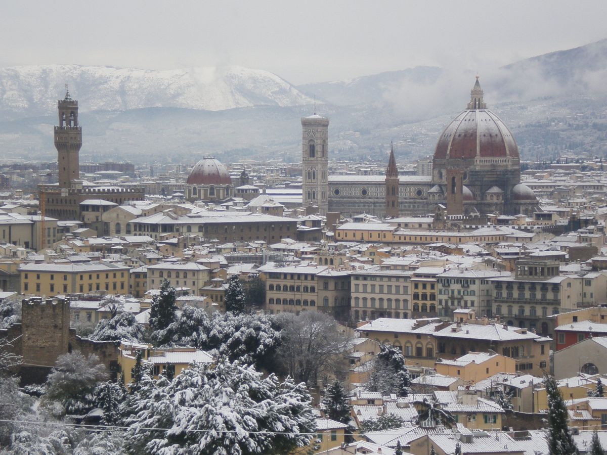 Winter in Florence.