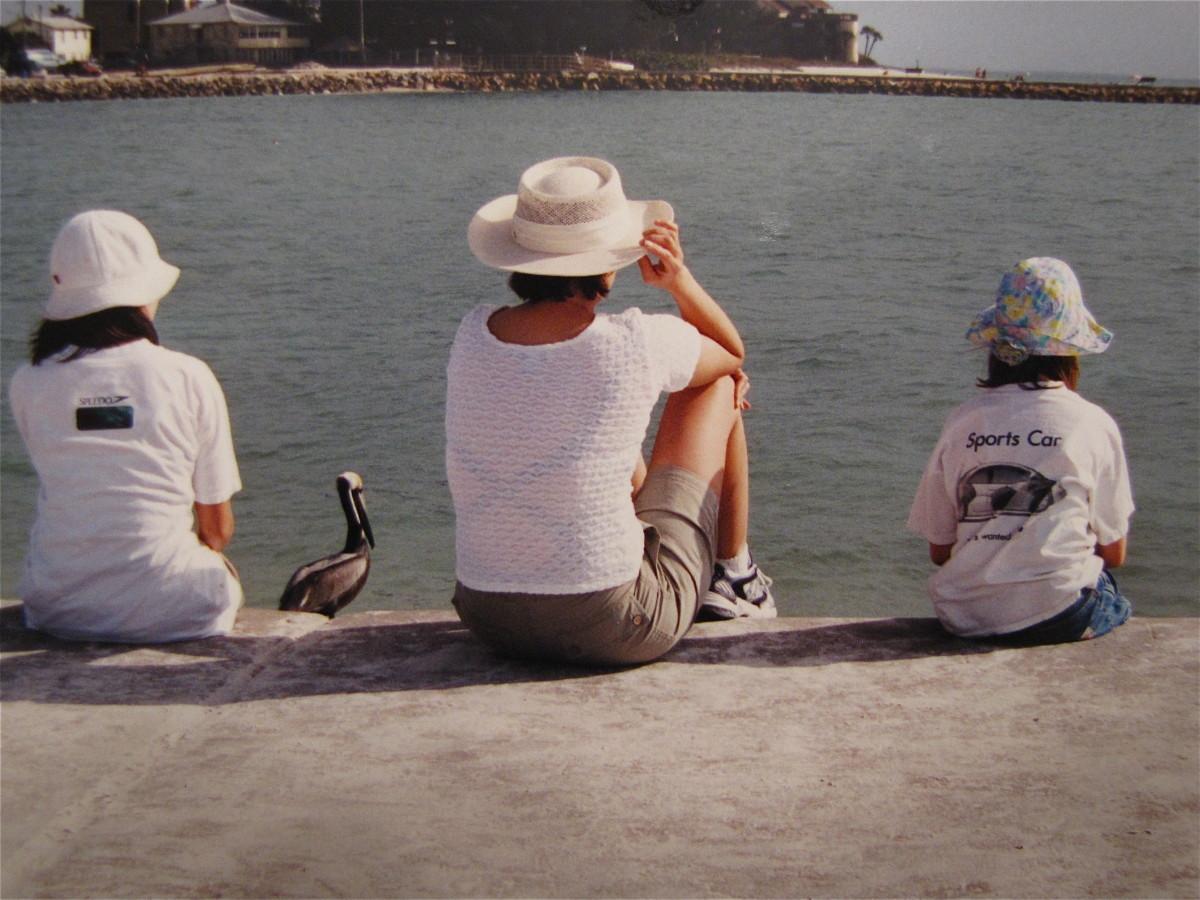 Relaxing near John's Pass, Madeira Beach