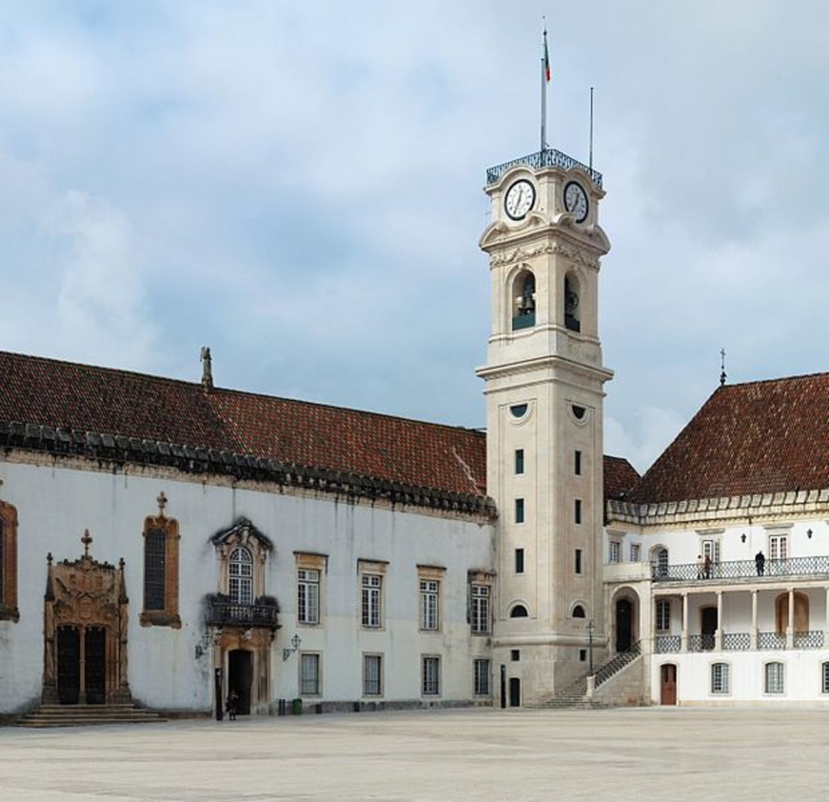 University of Coimbra is one of the oldest universities in Europe.