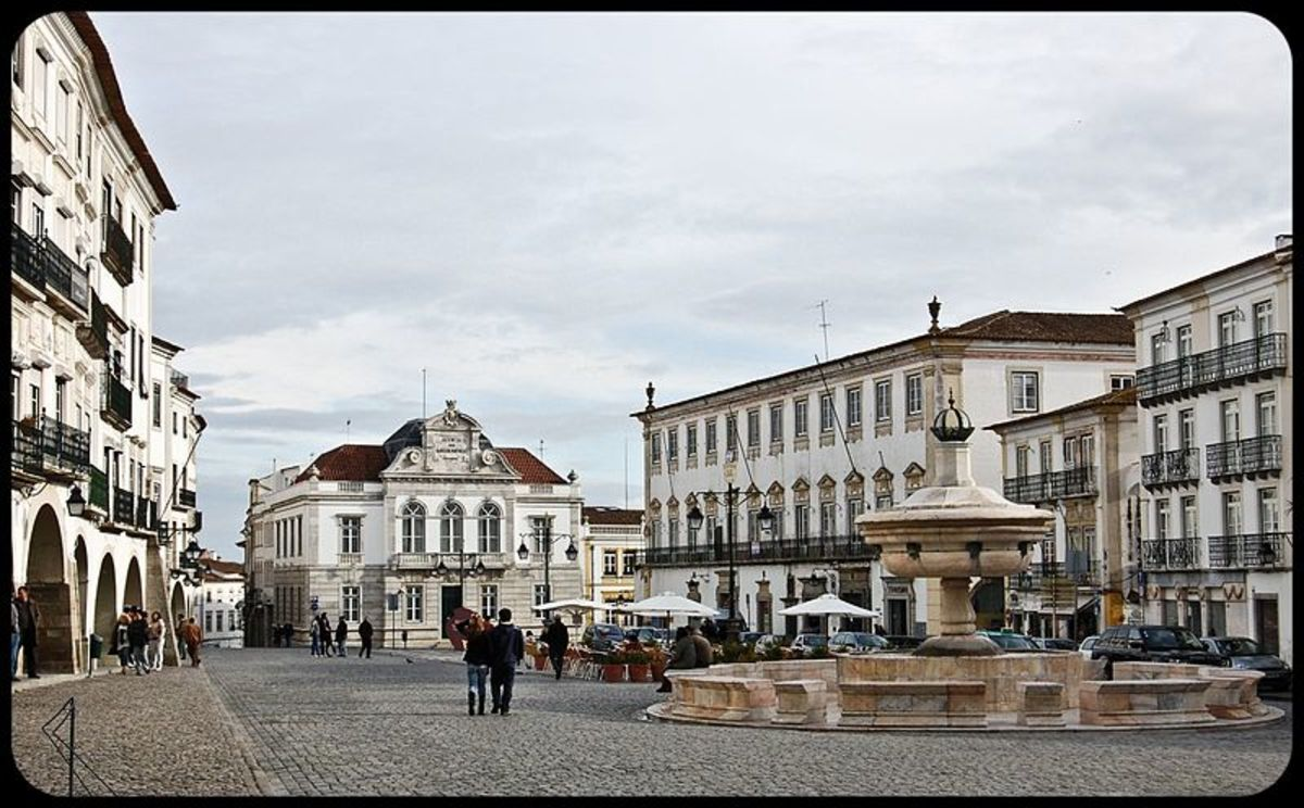 Praça do Giraldo in Evora