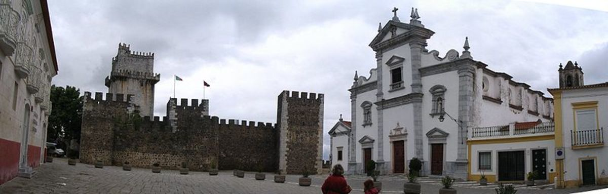 The cathedral in Beja