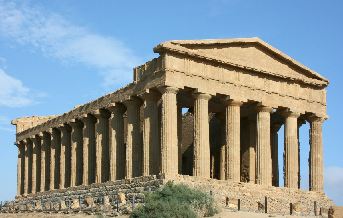 Concordia temple, Agrigento, Sicily
