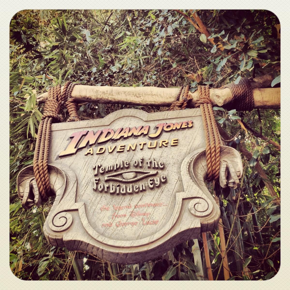 Indiana Jones attraction