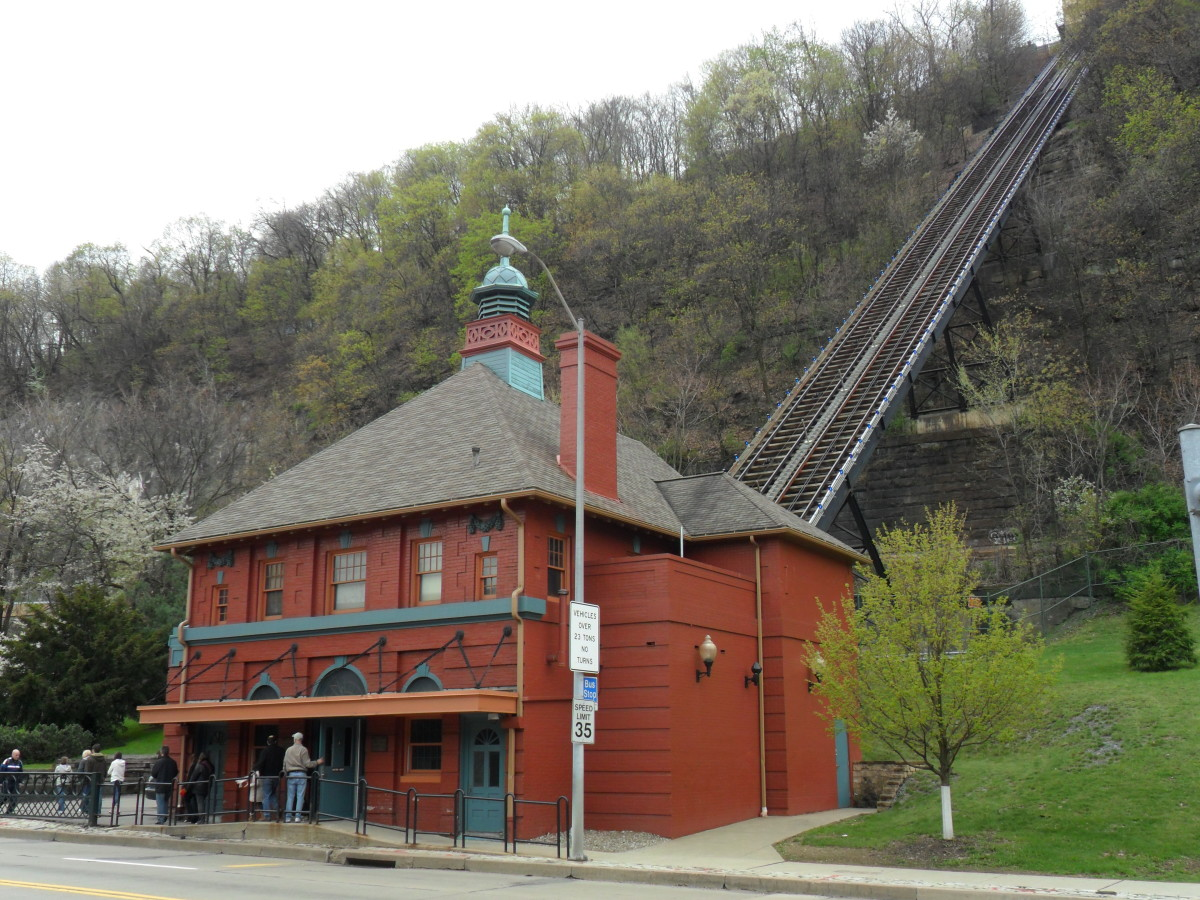 Monongahela Incline Lower Station, Station Square.