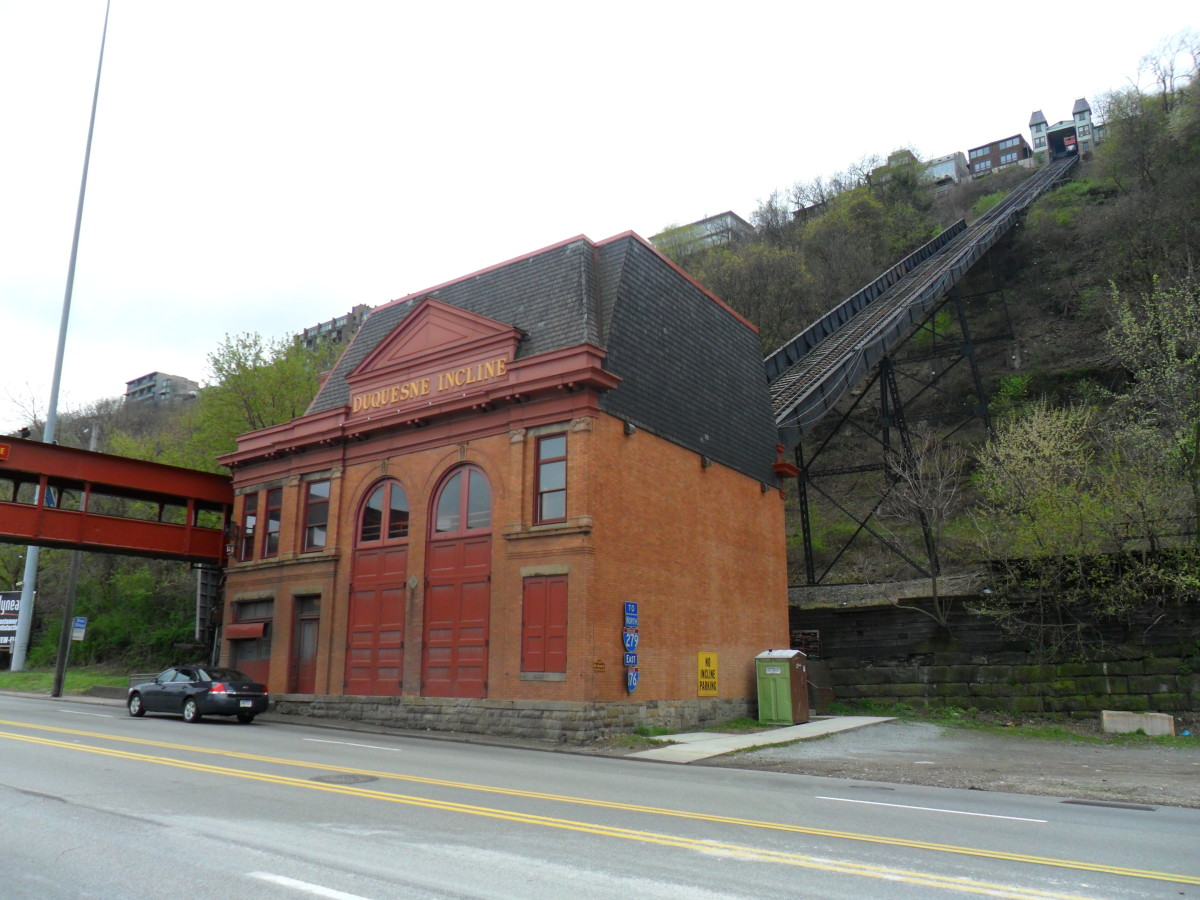 Duquesne Incline, Lower Station.