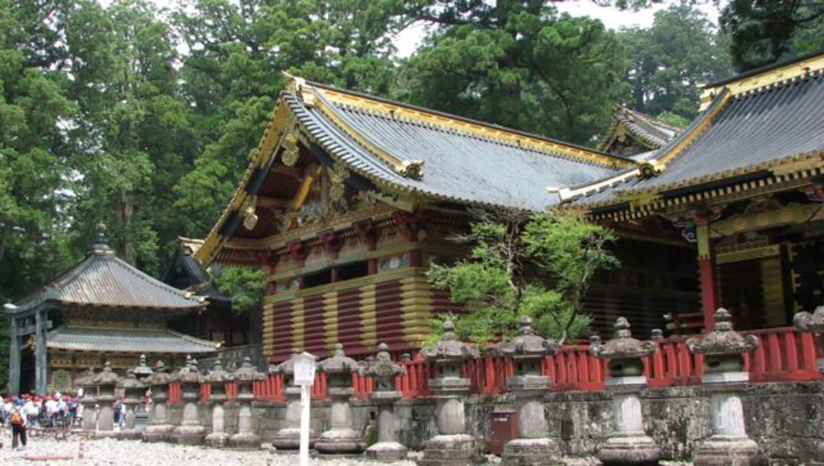 Nikko temple grounds, a huge UNESCO world heritage complex.