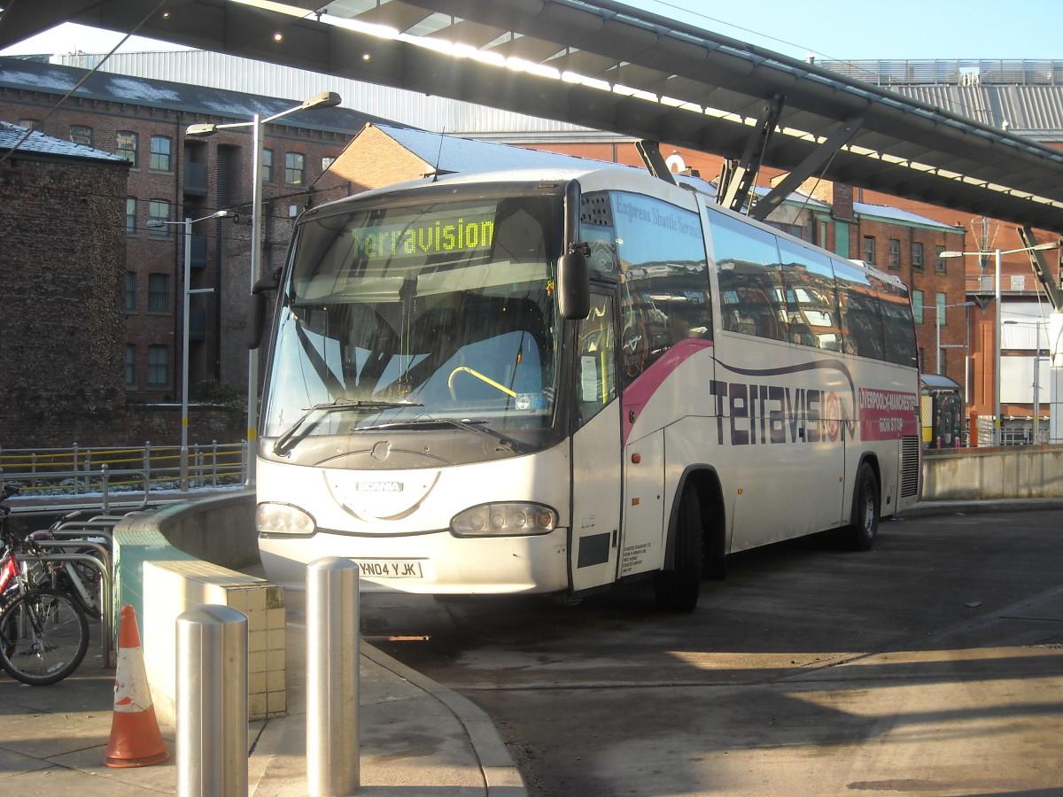 The Terravision Bus