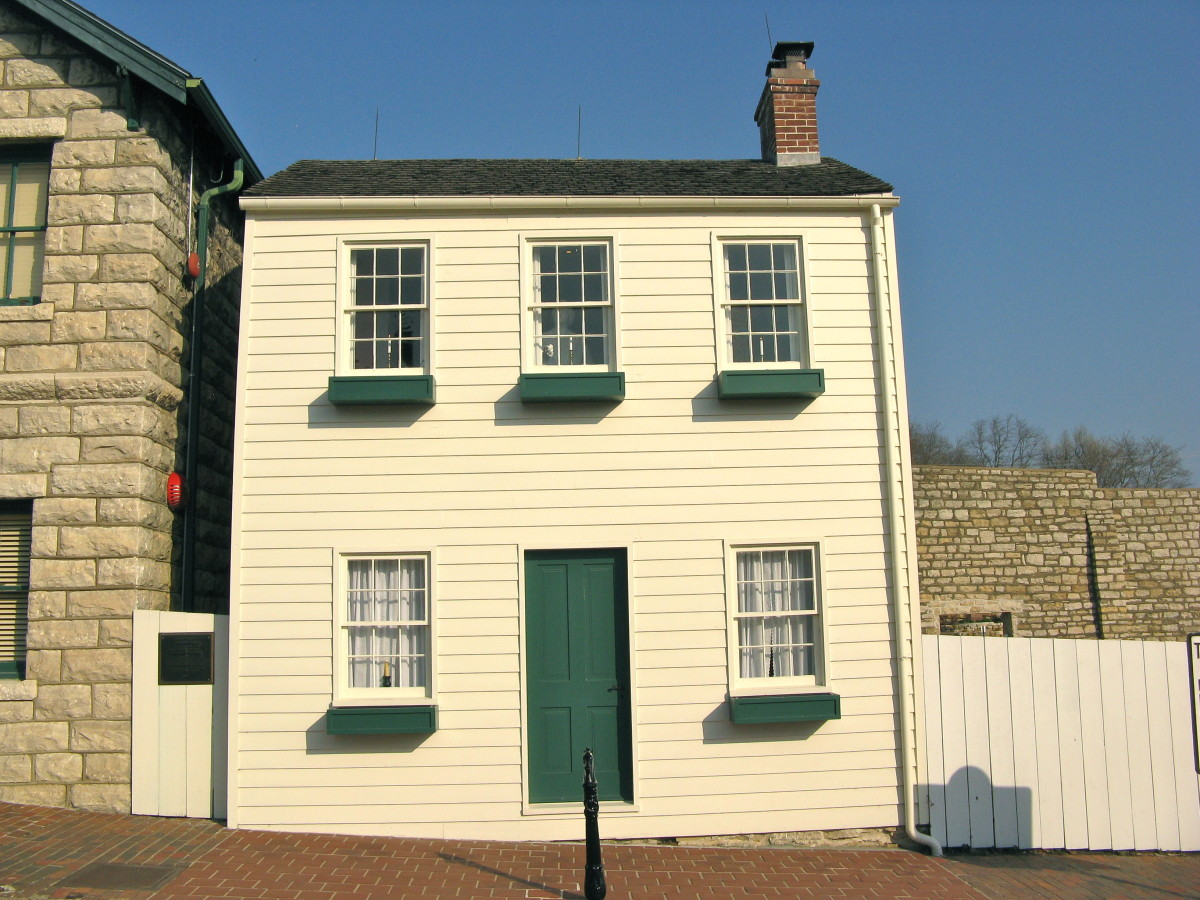 The childhood house of Mark Twain