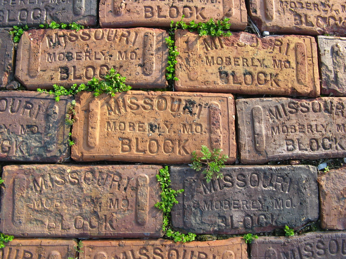Bricks on the first bridge