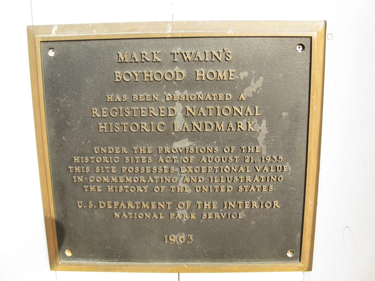 Mark Twain Historic Landmark