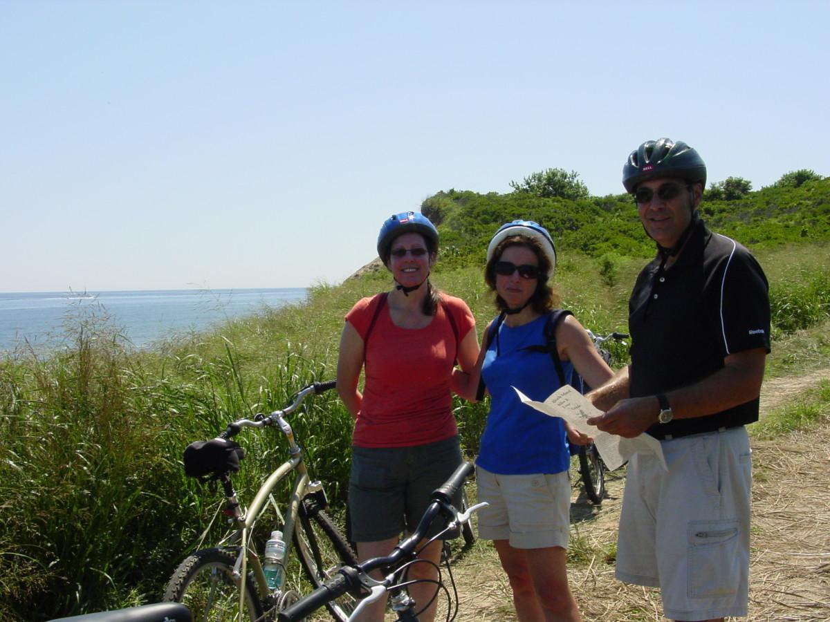 Biking the Island