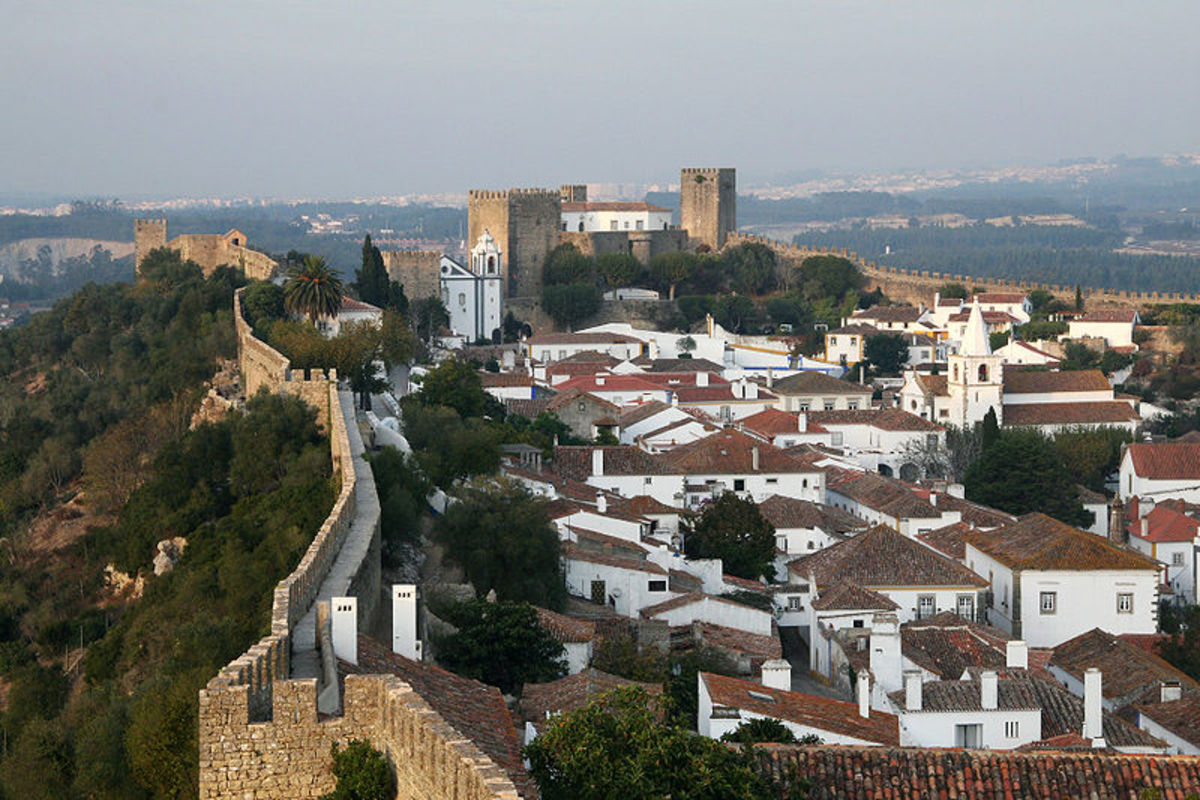 Obidos is a walled city