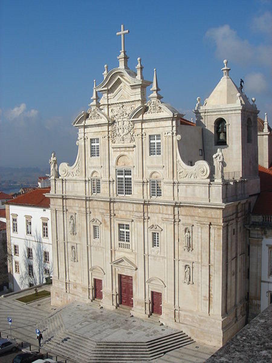 "The new ""Sé"" (main church) of Coimbra"