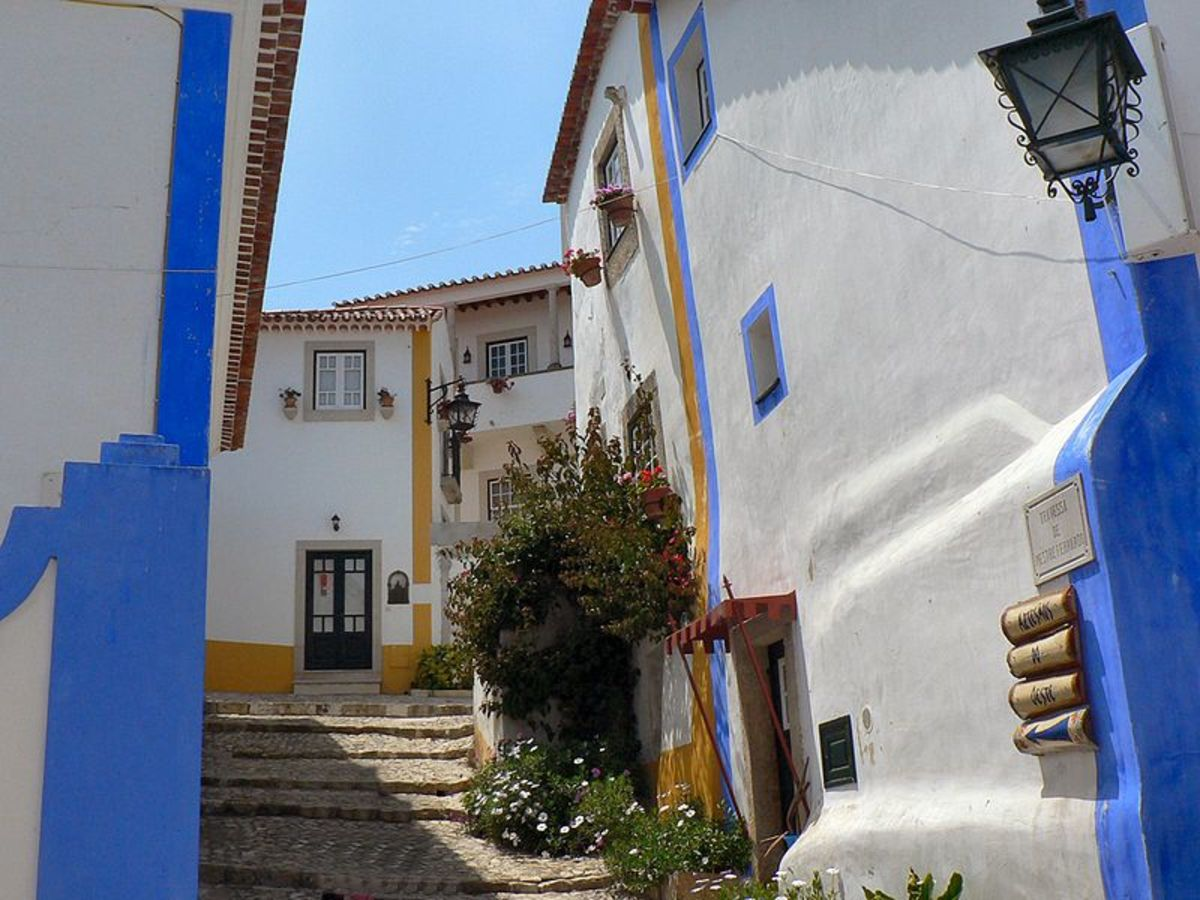 The charming streets of Obidos
