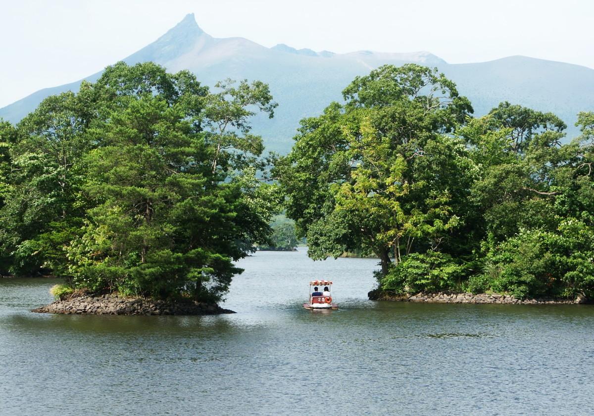 Boating in Onuma Quasi-National Park