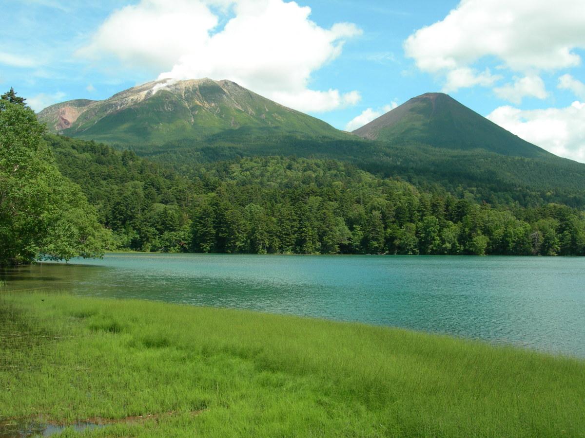 Lake Onnetō in Akan National Park