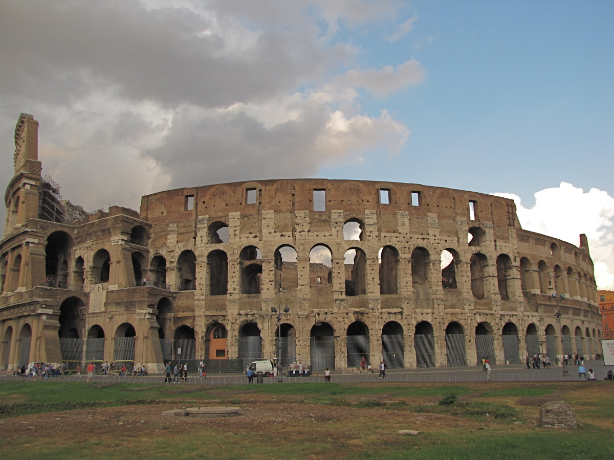 A Visit to The Roman Colosseum