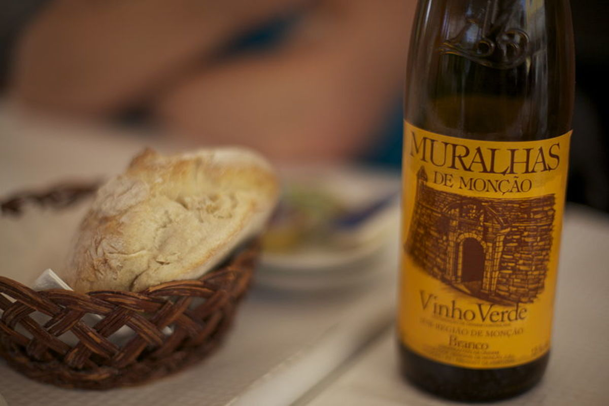 "Vinho verde, or ""green wine"" is actually young wine and it's only produced in Portugal"