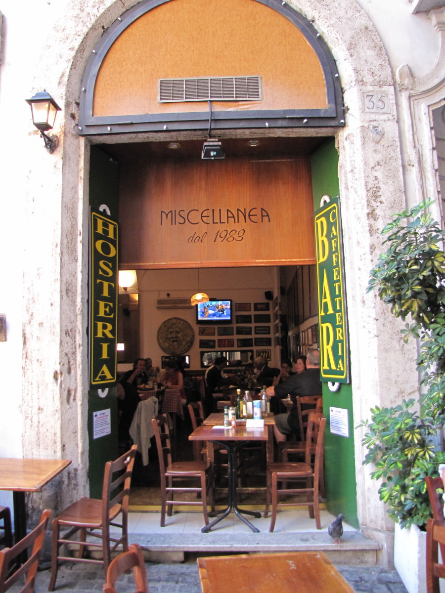 Miscellania, great place for lunch.